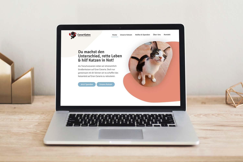 Maria-Grahmann-Portfolio-CanariGatos-Webdesign-Tierschutz